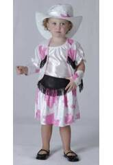 Kostüm Cowgirl Weiß Baby Größe L