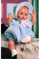 Juanin Pérez Baby Strampelanzug Organdí Blau.