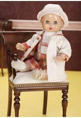 Juanin Pérez Bebè Completo Scamiciato Quadri e Montgomery