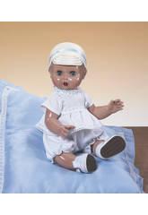 Juanin Pérez Bebé Conjunto Blanco y Azul con Gorra