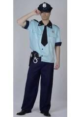 Fantasia Polícia Homem Tamanho XL