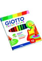 Rotuladores Giotto Turbo 12 Colores Fila F416000
