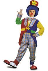 Déguisement Enfant M Clown Manteau