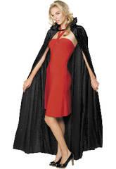 Disfraz Adulto Capa de Terciopelo Negra Rubies 16207