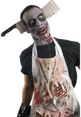 Diadema con Cuchillo Carnicero Zombie Rubies 3726