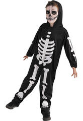 Kinderkostüm Skelett Glow in Dark Größe S Rubies S8318-S