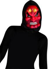 Máscara de Demonio con Capucha Rubies S5091