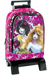 Day Pack avec Trolley Princesses Zombie