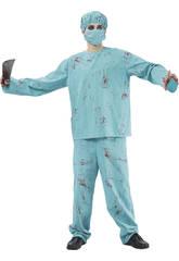 Disfraz Cirujano Sangriento Hombre Talla XL