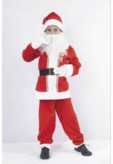 Déguisement Papa Noel Garçon taille M