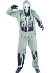 Déguisement Squelette Zombie Homme XL
