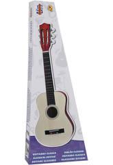 Guitarra De Plástico Imitación Madera 76.2 cm.