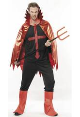 Disfraz Lucifer Malvado Hombre Talla XL