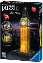 Puzle 3D Building Big Ben con Luz Ravensburger 12588