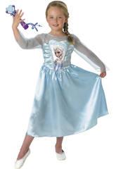 Kostüm Mädchen Elsa Classic mit Micro T-L Rubies 620284-L