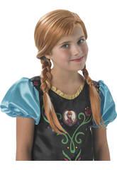 Perruque Frozen Anna