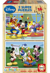 Puzzle 2x16 Mickey Mouse Club House
