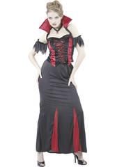 Kostüm vamp Liebhaber Frau Größe L