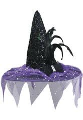 Sombrero bruja Morado