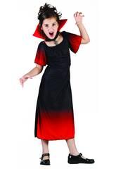 Disfraz Condesa Vampira Niña Talla S