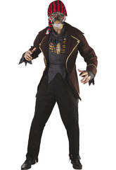 Déguisement Pirate Zombie Homme taille L