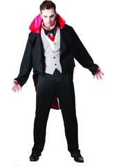 Fantasia Vampiro Malvado Homem Tamanho XL