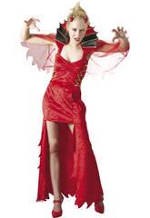 Kostüm bösen Dämon Frau Größe XL