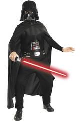 Disfraz niño Darth Vader con espada T-S