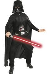 Kostüm Junge Darth Vader mit Schwert T-M Rubies 41020-M