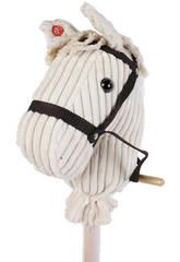 Pferdekopf 100 cm. mit Stock