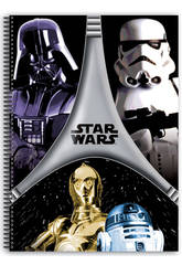Block A4 80 Feuilles Star Wars Flash
