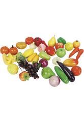 Frutas y Verduras 40 piezas