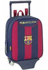 Mochila Guarderia con Ruedas F.C. Barcelona