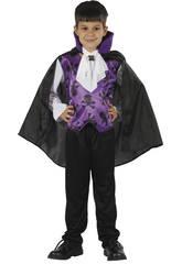 Déguisement Vampire Violet Garçon Taille XL
