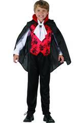 Déguisement Garçon XL Vampire Rouge