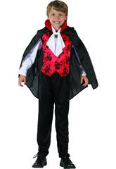 Disfraz Niños XL Vampiro Rojo