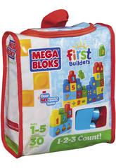Megabloks Eco Mega Bolsa 1,2,3 Números