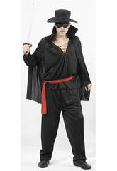 Disfraz Bandido Enmascarado Hombre Talla XL