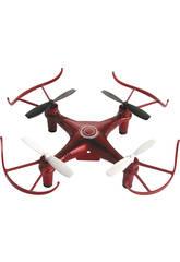 Dron Radio Control Assortito 4 eliche 2.4GHZ 11X11X3.5CM