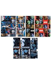 Papel de embrulho Star Wars 200 x 70 cm.