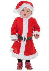 Disfraz Mami Noel Bebé Talla XS Llopis 7230