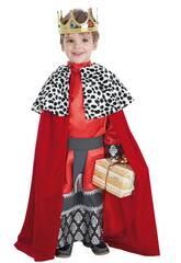 Kostüm König Gaspar Kind Größe L