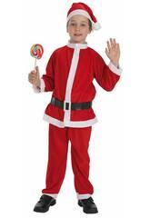 Kostüm Weihnachtsmann Kind Größe S Llopis 8267-1