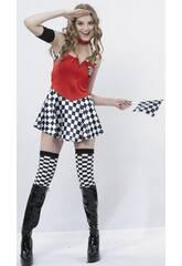 Maschera Hostess Donna Taglia XL