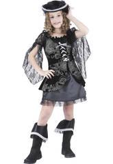 Disfraz Pirata Niñas Talla S