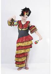 Déguisement de danseuse de rumba taille M