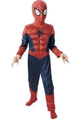 Disfraz niño Spiderman Ultimate Musculoso T-M