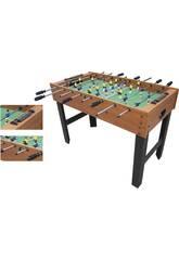 Holztisch Fußball 121x61x80 cm.