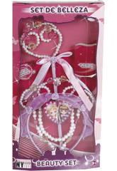 Set Bellezza Bacchetta, Collana e Diadema Principessa