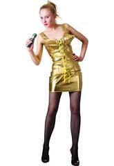 Disfraz Estrella del Rock 80´S Mujer Talla XL